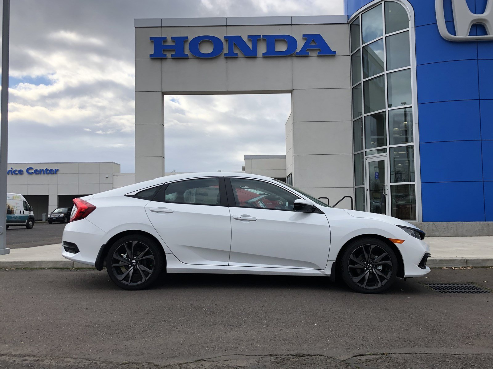 New 2019 Honda Civic Sedan Sport