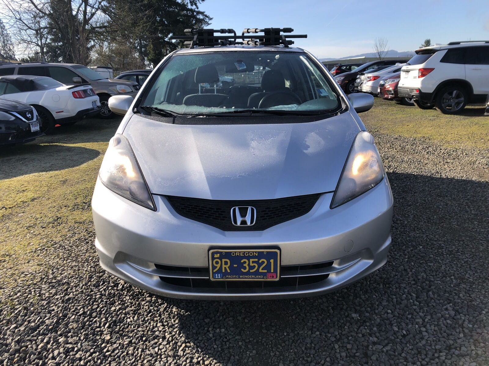 Pre-Owned 2013 Honda Fit GRAY