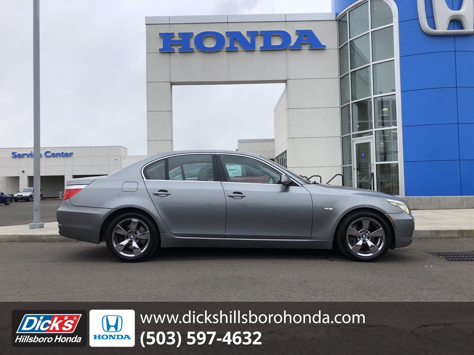 Pre-Owned 2008 BMW 5 Series 528i