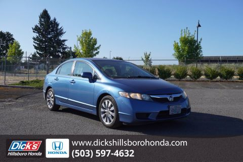Pre-Owned 2009 Honda Civic Sdn EX FWD 4dr Car