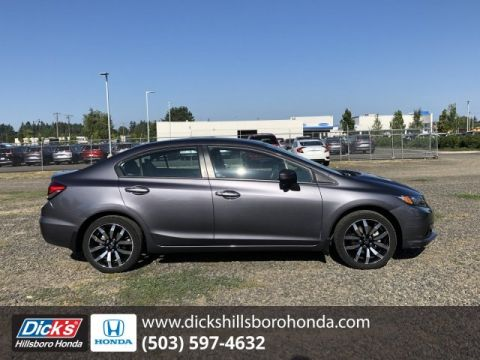 Pre-Owned 2014 Honda Civic Sedan EX-L