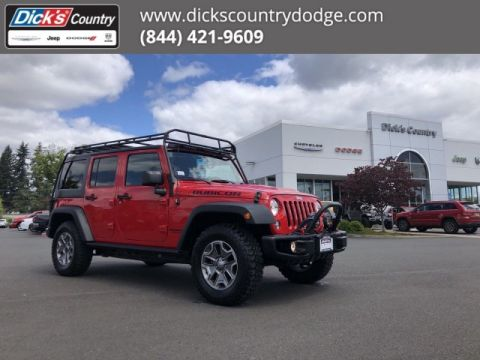 Pre-Owned 2014 Jeep Wrangler Unlimited Rubicon X