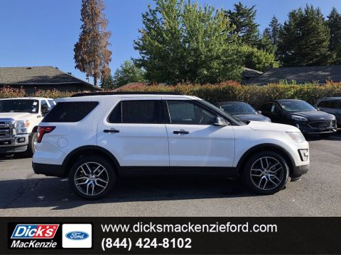 Pre-Owned 2017 Ford Explorer Sport With Navigation & 4WD
