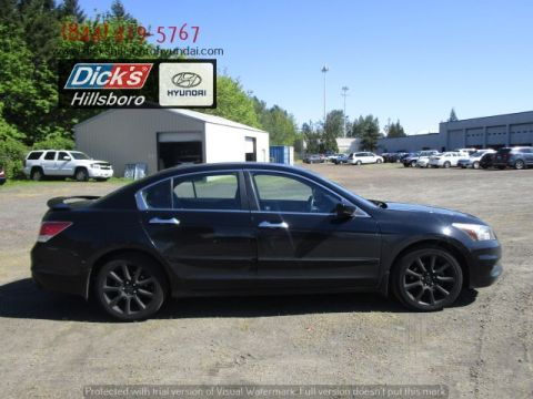Pre-Owned 2012 Honda Accord 3.5 EX-L w/Navi