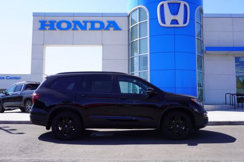 New 2021 Honda Pilot Black Edition With Navigation & AWD