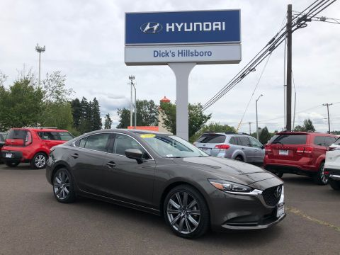 Pre-Owned 2018 Mazda6 Touring FWD Sedan