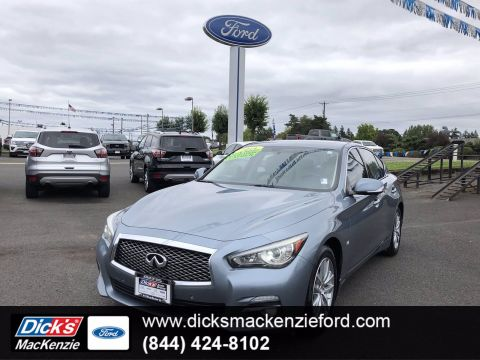 Pre-Owned 2014 INFINITI Q50 Premium With Navigation & AWD