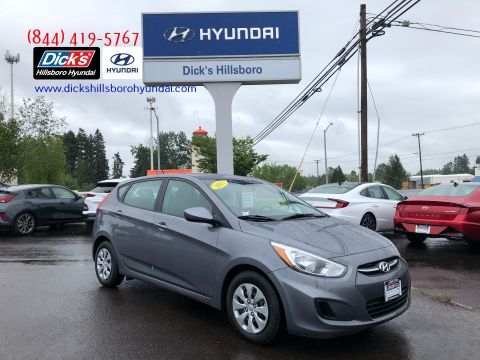 Pre-Owned 2017 Hyundai Accent SE FWD