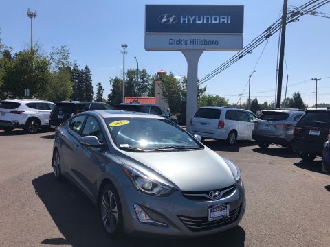 Pre-Owned 2015 Hyundai Elantra Sport w/PZEV With Navigation