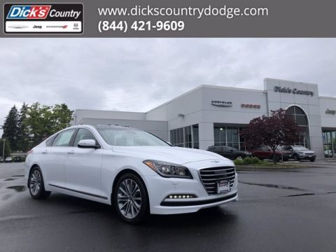 Pre-Owned 2017 Genesis G80 3.8L With Navigation & AWD
