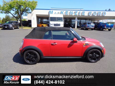 Pre-Owned 2013 MINI Cooper Convertible CARBON BLACK